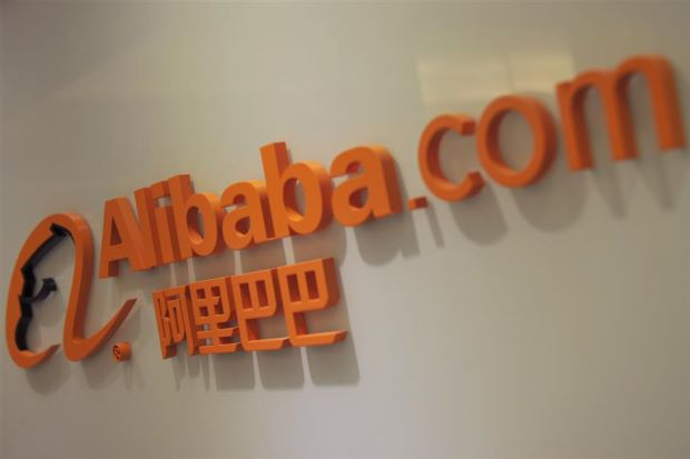 Plausible deniability: Alibaba has denied an executive's report that the slowing China economy is having a negative impact on its sales growth. — AFP